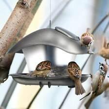Vogelhaus Vogelfutterhaus Futterhaus Futterstelle Futterstation Oval Einkammer
