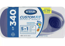 Dr. Scholl's CF340 Custom Fit Orthotic Inserts
