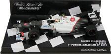 Minichamps Sauber C31 1st Podium Malaysian GP 2012 - Sergio Perez 1/43 Scale