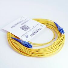 Glasfaser LWL Patchkabel 20m LC-LC Stecker yellow 9/125 OS2 Duplex Singlemode Un