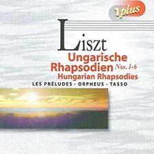 Liszt Hungarian Rhapsodies: Preludes / Orpheus / Tasso