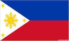 """PHILIPPINES mini flag 9"""" x 6"""" 22cm x 15cm flags"""
