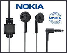 5 x NOKIA 3.5MM JACK HEADPHONE GENUINE ORIGINAL NOKIA WH-102 - lot of 5pcs