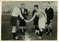 PHOTO PRESSE LUMIERE - 020616 - 1937 FOOTBALL match France Allemagne