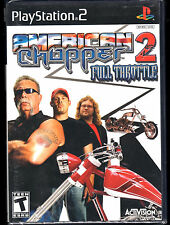 American Chopper 2: Full Throttle PlayStation 2 PS2 Game, Used