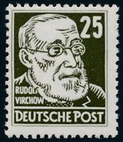 DDR, MiNr. 334 va XI PF II, tadellos postfrisch, Befund Dr. Ruscher, Mi. 500,-+