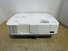 Tested NEC NP-M271X 3LCD XGA Conference Room Projector 2700 Lumens 1517 Lamp HRS