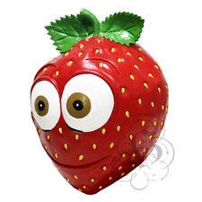 Latex Fruit Vigne Fraise Drôle Visage Heureux Cosplay Props Fancy Party Masque