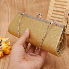 Hot Women's Evening Glitter Bag Bridal Clutch Party Prom Wedding Banquet Handbag