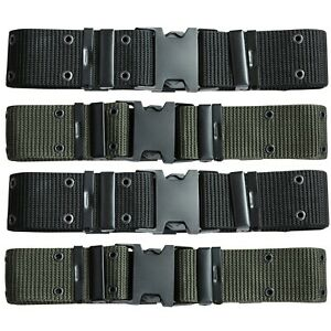 Army Belt Military Tactical Quick Buckle Security Cadet Combat Trouser Webbing
