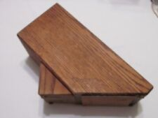 Chicago Cutlery 6 Slot Wood Kitchen Knife Block Holder