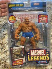 Marvel Legends Thing Legendary Rider Series Fantastic Four Toy Biz NEW SEALED