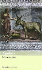 Metamorfosi. Testo latino a fronte - Apuleio - Libro nuovo in Offerta!