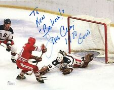 Jim Craig autographed 8x10 color photo Miracle On Ice Goalie To Ken Jsa