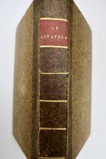 Le citateur Pigault-Lebrun 1803