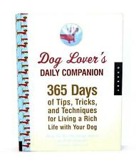 BOOK HB Animal Welfare League Benefit Pets Dogs DOG LOVER'S DAILY COMPANION