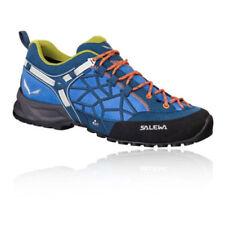 Scarpe da ginnastica da uomo blu SALEWA con stringhe
