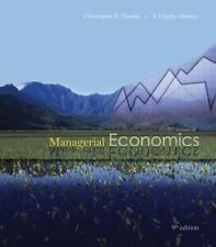 NEW - Managerial Economics with Student CD
