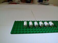 854 Lego Stein 2x2 Weiss 5 Stück