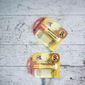 Australian Gold Face Guard SPF 50+ 0.50 oz Sunscreen 2 Stick lot