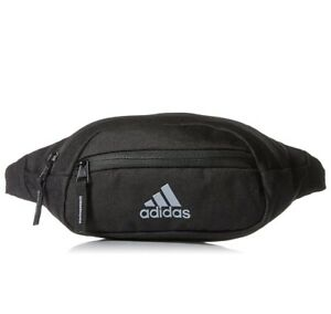 Adidas Rand II Waist Pack Black Adjustable Fanny Pack Strap Travel