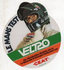 Stickers adesivo pubblicitario vintage - VELTRO LE MANS TEST CEAT