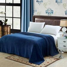Soft Mink Faux Fur Throw Fleece Warm Large Sofa Bed Blanket Single to King Sizes