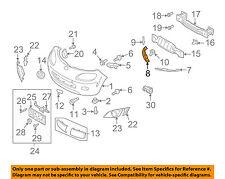 MAZDA OEM 06-15 MX-5 Miata Front Bumper Grille Grill-Plate Right NE51501A1B