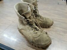 Rocky S2V 105 Desert Tan Tactical Combat Military Lace Up Boots 10W A105 CAG SOF