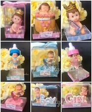 1PC Baby Shower Favor Boy Girl Cake Topper Decoration Figurines Gender Reveal