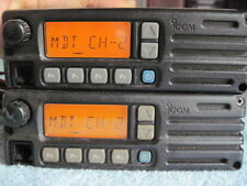 2  ICOM IC-F1020-2 VHF MOBILE RADIO ONLY F1020 ham murs fd marine business fire=