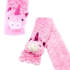 Petit Licorne Enfants Thermique Chauffe Peluche Molle Duveteux Écharpe Cadeau
