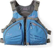 Stohlquist Cruiser PFD women's lifejacket, mesh back, contoured fit BLUE M/L