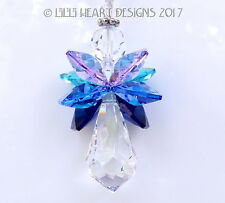 m/w Swarovski RARE *Northern Lights 2 Angel* Aurora Borealis Lilli Heart Designs
