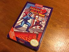 Mega Man 2 (Nintendo Entertainment System, 1989) NES-GP CIB COMPLETE CAPCOM