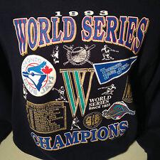 Toronto Blue Jays 1993 World Series Champions MLB Baseball Sweater SweatShirt L