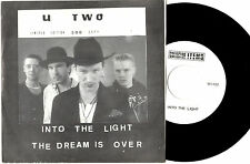 "U2 (U TWO) - INTO THE LIGHT / THE DREAM IS OVER - RARE 7""45 RECORD WRAP SLV 1986"
