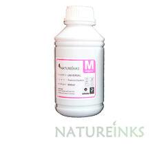 500ml Premium Magenta Universal Refill Ink dye Bottle CISS refillable cartridges