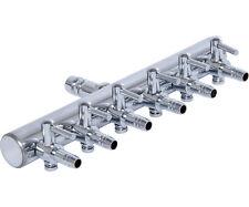 Active Aqua 6 Outlet Metal Air Manifold Adjustable Divider SAVE $$ W/ BAY HYDRO