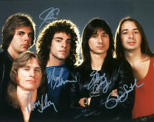 JOURNEY FULL BAND SIGNED PHOTO 8X10 RP AUTOGRAPHED STEVE PERRY NEAL SCHONN + ALL