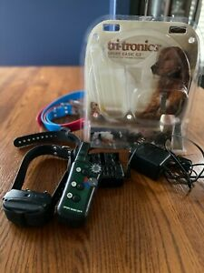 Tri-Tronics Sport Basic G3 Transmitter, 3  Collars and 1 Charger