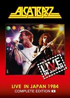 New ALCATRAZZ Live in Japan Complete Edition DVD CD GQXS-90344 4562387206957