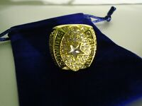 1992 Aikman  Dallas Cowboys Super Bowl World Champions NFL Football MVP Ring!!!