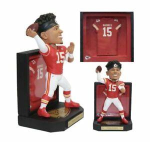 Patrick Mahomes (Kansas City Chiefs) NFL Framed Jersey Bobblehead New In Box