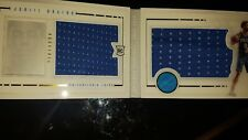 2015/16 PANINI PLAYBOOK DUEL JERSEY JAHILL OKAFOR BOOKLET RC #/199