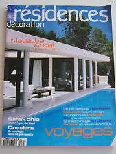 MAGAZINE RESIDENCES DECORATION . N° 70 . NATACHA AMAL UNIVERS INTIME