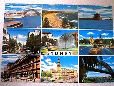 SYDNEY 1970'S MULTI-VIEW POSTCARD, UNUSED - VGC    Australia