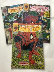 ASOMBROSO HOMBRE ARAÑA #500 ,510,511 mexico comic MCFARLANE spiderman 1,2,3 set3