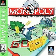 Monopoly Playstation 1 PS1 PSONE Game Complete!