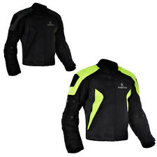 Oxford J17S Spartan Short Motorbike Motorcycle Jacket Outdoors Racing Black Fluo